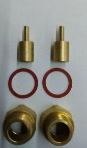 TAP SPINDLE EXTENDER 2 Pcs Brass 15MM