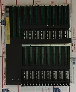 SY-MAX Square D Class 8030 Type: CRK-300 SER B I/O RACK ASSEMBLY