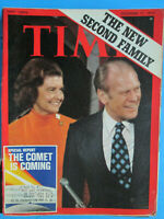 Time December 17 1973 The New Family Gerald Ford The Comet Is Comingvintage ads