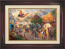 Thomas Kinkade Studios Disney Dumbo 18 x 27 LE S/N Canvas Framed