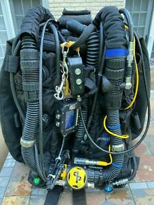 Inspiration Classic Rebreather with Hammerhead REV D electronics and HUD