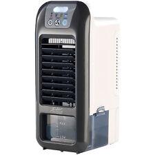 Aircooler: Mobiler Akku-Verdunstungs-Luftkühler LW-350 mit LED-Licht, 9 Watt