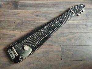 1960's Teisco Japan Model L 6-String Lap Steel Slide Guitar