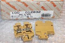 1 Stück WEIDMÜLLER Durchgangsklemme  Typ SAK 4 KRG    -012832 NEU