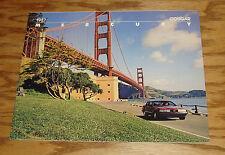 Original 1987 Mercury Cougar Sales Brochure 87
