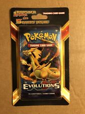 Pokemon Evolutions XY Booster Pack Plus 5 Cards Blister (CHARIZARD) New Sealed