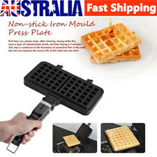 Waffle Pan Maker Non-stick Press Plates Mould Baking Tool Iron Mold Square Tool