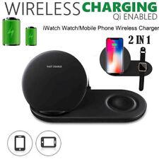 2 in 1 Fast Charging Ladegerät Ständer Pad für iPhone für Apple Watch 4 3 2 DE