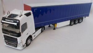 ELI116735 - Camion 4x2 VOLVO FH4 500 avec semi Tautliner 3 essieux aux couleurs