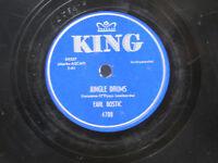 Earl Bostic 78 Jungle Drums bw Danube Waves   King VG++ jazz