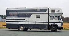 Großes Wohnmobil auf Mercedes 1420 Basis Selbstausbau