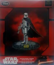 CAPTAIN PHASMA FIGURINE, Star Wars, Disney Store, LIMITED EDITION /1200