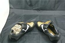 PUMA V-KON ||| GCR HG TRAINER UK9.5 BLACK/GOLD/WHITE FOOTBALL BOOTS RARE