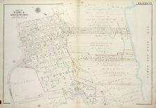 1917 RICHMOND, STATEN ISLAND MARINE PARK, MILLER AVIATION FIELD, COPY ATLAS MAP