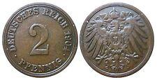 J 11   2 Pfennig Kaiserreich 1904 A in VZ  502847