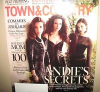 ANDIE MCDOWELL & HER DAUGHTERS TOWN & COUNTRY MAGAZINE / RALPH LAUREN COLLECTION
