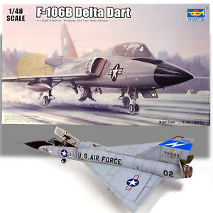 TRUMPETER 1/48 CONVAIR F-106B DELTA DART KIT 02892