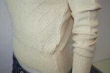 Rollkragen Damen Pullover NOS wollweiß 80er Rolli OVP Gr.36 True VINTAGE 80s