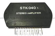 STK040 - Ampli hybride 2x10W                                            CJSTK040