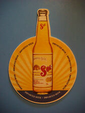 Fun Beer COASTER ~ Sol Brewery Pale Lager Cerveza ~ Monterrey, Mexico Since 1899