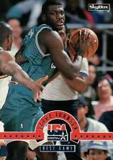 Larry Johnson, Skybox 1994 USA Basketball Team Trading Card - Not Postcard