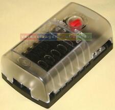 Verteilerdose Sicherung 12-fach Halter, 6, 12, 24 Volt, KFZ / Boot / Wohnmobil