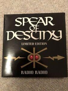 "SPEAR OF DESTINY- RADIO RADIO VINYL 7"" 45RPM PS"