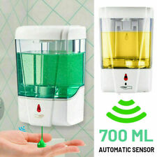 Wall Mount IR Automatic Liquid Soap Sanitizer Dispenser 700ML Hands-Free Sensor