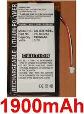 Batterie 1900mAh type PS-803262 Pour Navman iCN 720, Navman iCN 750