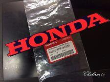 """HONDA GENUINE MARK 250x30 mm """" Red - DarkBlue """" STICKER DECAL STICKER LOGO BADGE"""