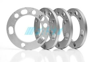 """Wheel Spacers 1/2"""" Thick Fits 5x135, 5x5.5, 6x135, 6x5.5 Bolt Patterns 4 Pieces"""