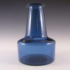 Kastrup/Holmegaard Blue Glass Capri Vase - Jacob Bang