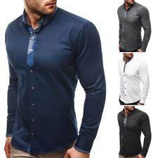 Camicie classiche da uomo multicolore in cotone