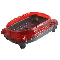 Spinning Top Stadium Red  Combat Arena Battle Top Plate Kids Toys