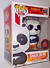 Funko Pop! Asia Exclusive Kung Fu Panda Shaolin Po New