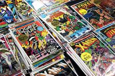 Comic Book Grab Bag Marvel DC SILVER Bronze Copper Age Rare lot VF to NM