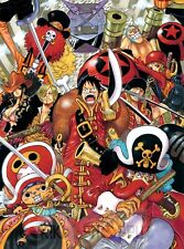 Poster A3 One Piece Film Z Luffy Zoro Sanji Brook Robbin Mugiwaras Nakamas 15
