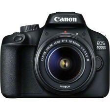 Canon EOS 4000D DSLR Camera and EF-S 18-55 mm f/3.5-5.6 III Lens New Original*au