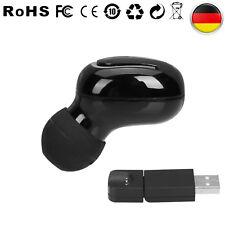 Bluetooth In-Ear Ohrhörer Drahtlose Stereo Kopfhörer +Magnet-Ladegerät +Mikrofon