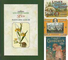 ROYAL BOTANIC GARDENS KEW POSTCARD ALBUM - 59 Food & Household Goods Ads / Cards