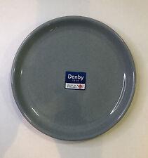 Denby Heritage Medium Coupe Plate (terrace Powder Blue) - 21cm