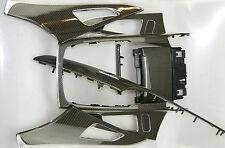 Audi rs6 a6 4 G en carbone Karbon décor décor Barres moulures ORIGINAL excellent état