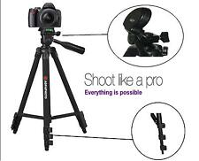 "AGFAPHOTO 50"" Pro Tripod With Case For Sony Alpha A5100 ILCE-5100"