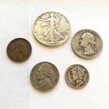 1941 US Birth Year Coin Set Whitman Holder