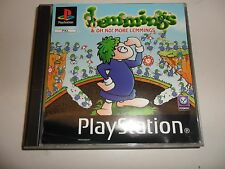 PlayStation 1  PSX  PS1  Lemmings & OH NO! More Lemmings