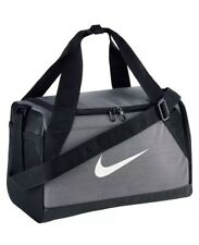 5c81cb8669 NEW Nike Brasilia 6 XS Duffel Gym Bag Navy Black Grey Gray Duffle BA5432-064