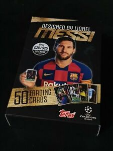 Lionel Messi Topps 2019 20 Curated Set Barcelona Barca PSG Paris Foden