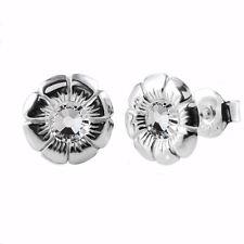 925 Orecchini a Perno Argento Sterling * Daisy Fiore * Cancella cristalli di Swarovski ®