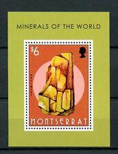 Montserrat 2013 Gomma integra, non linguellato minerali del mondo 1v S/S ROCCE Orpimento FRANCOBOLLI