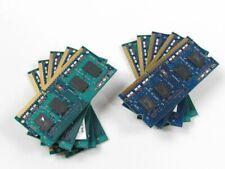 New listing Lot 10 4Gb 40Gb (10x 4Gb) Assorted Ddr3L-1600 Pc3L-12800 Laptop Sodimm Ram